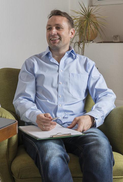 Kevin Hall in einer Coaching-Sitzung